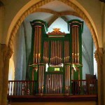 L'orgue de Guéret (cliché DGW orgues à nos logis)