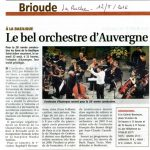 article La Ruche 12/8/2016